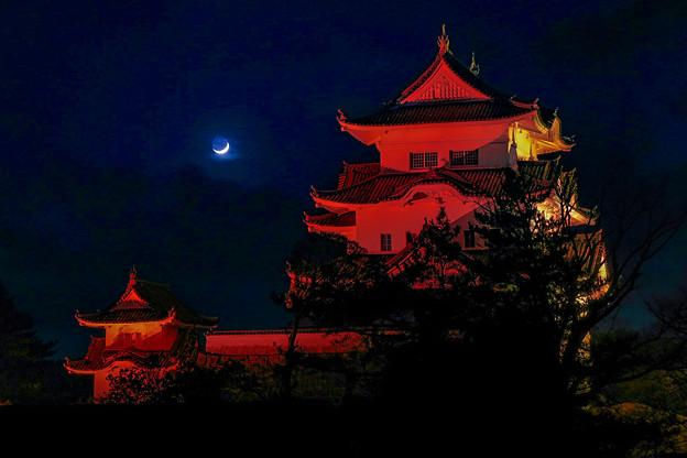 伊賀上野城  レッドアラート