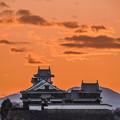 Photos: 燃える麒麟城