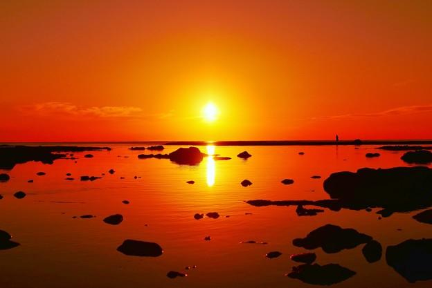 写真: サンセツト 能登半島