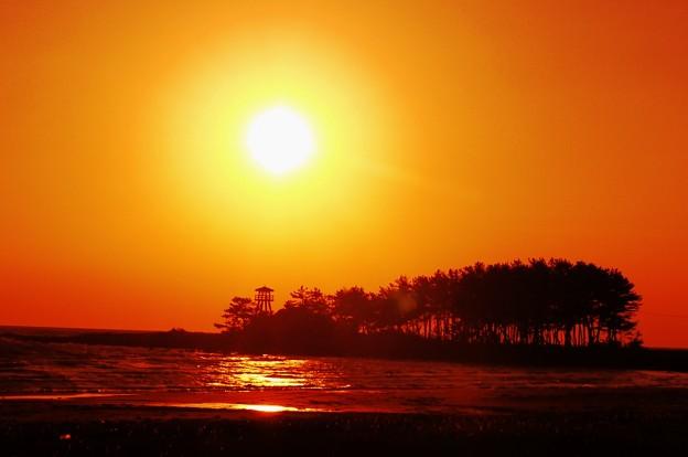 夕景 能登半島