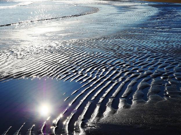 波紋 能登安部海岸