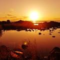 Photos: 静寂の夕景 能登上野海岸