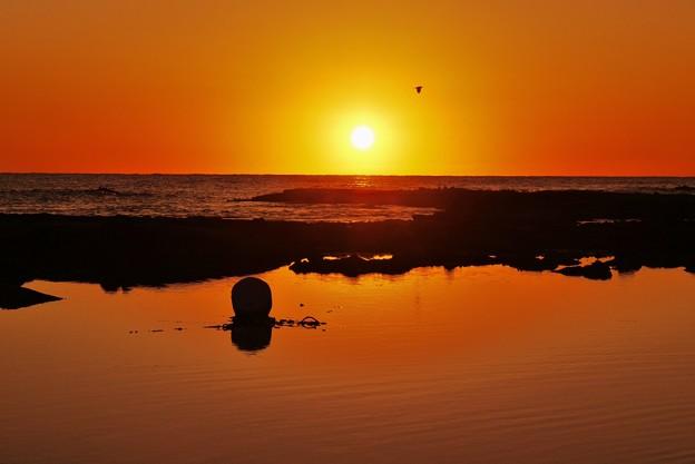 落陽 能登は百浦海岸