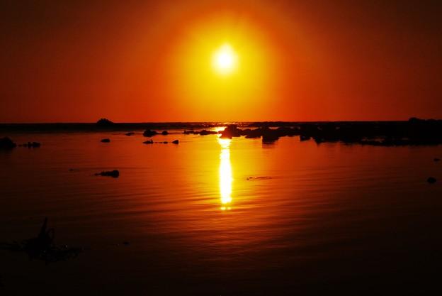 静寂の夕景