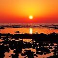 Photos: 落陽 能登は上野海岸