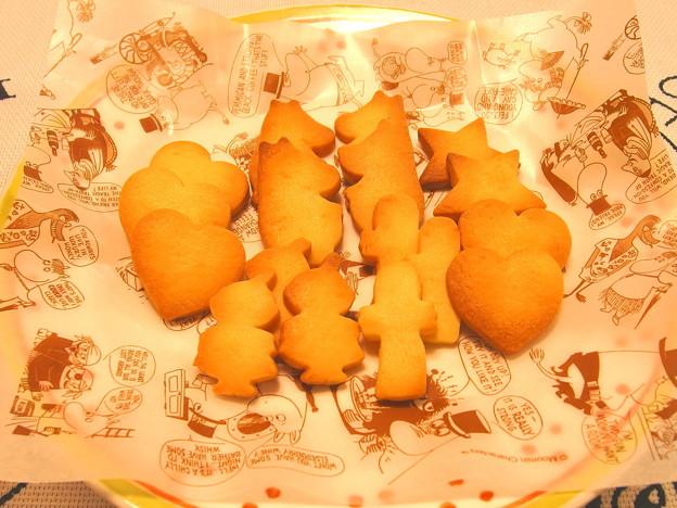 ムーミンクッキーを焼きましたです^^