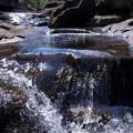 写真: 小さな滝がたくさんあるの^^