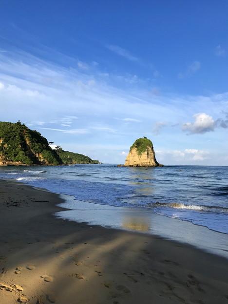 西表の朝の海なのです^^