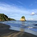 写真: 西表の朝の海なのです^^