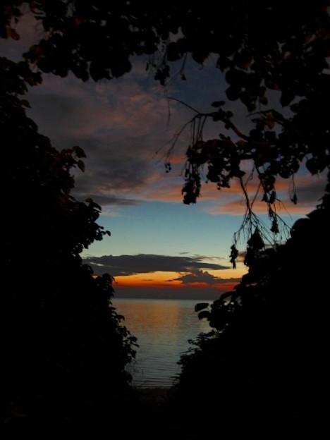 西表の夜明け前なのです^^