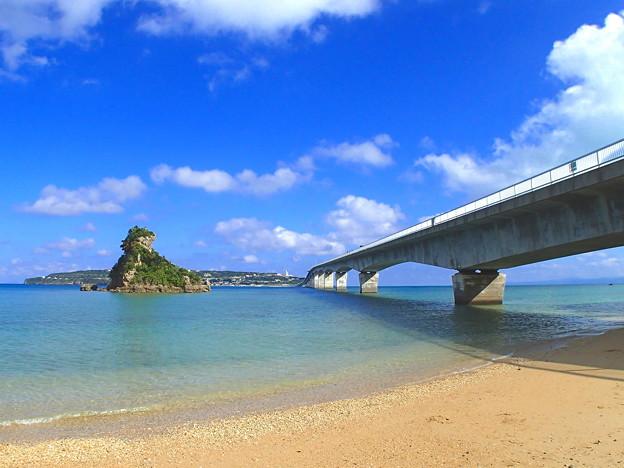 古宇利大橋なのです^^