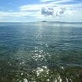 Photos: 備瀬の海の輝きなのです^^