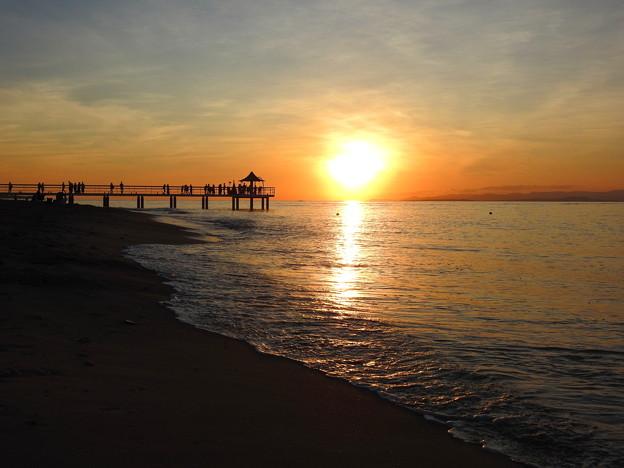 Photos: 石垣島の夕日なのです^^