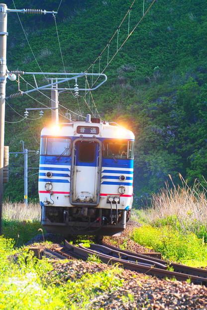 普通列車 今川ー越後寒川