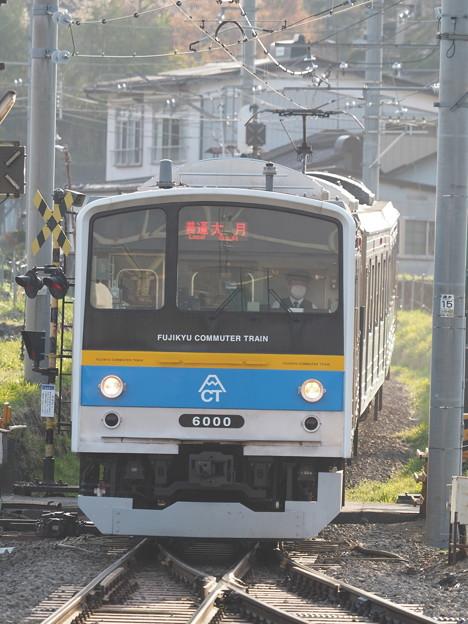 富士急行 下吉田駅 6000系
