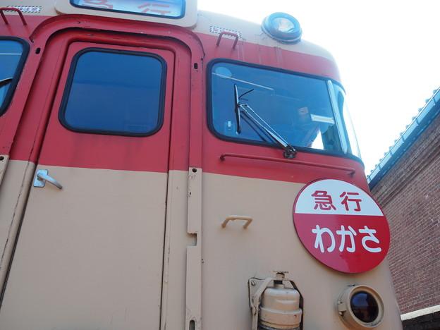 敦賀赤レンガ倉庫 キハ28