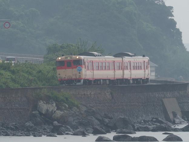 Photos: 急行 九十九島号 千綿駅
