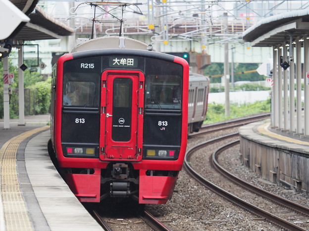 813系 枝光駅