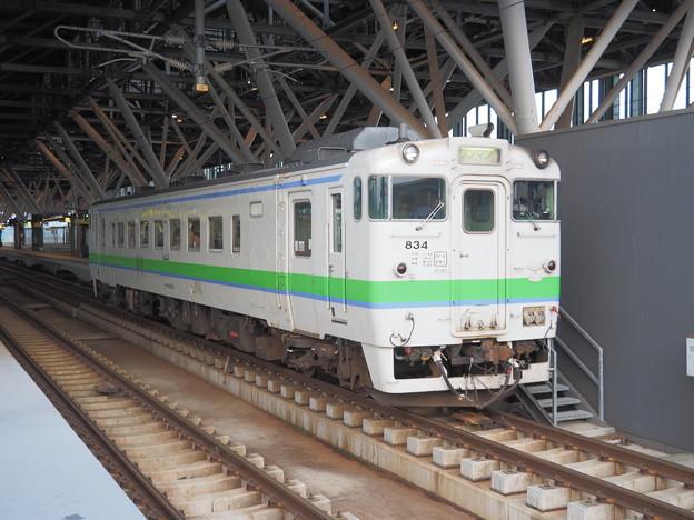 普通列車 旭川駅