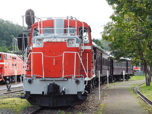 三笠鉄道記念館 DD16