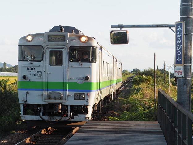 Photos: 普通列車 南比布駅