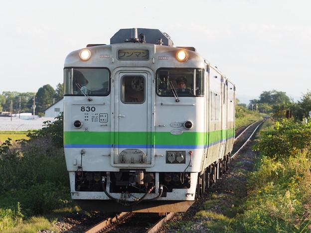 普通列車 南比布駅