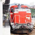 Photos: SLおが試運転 男鹿駅