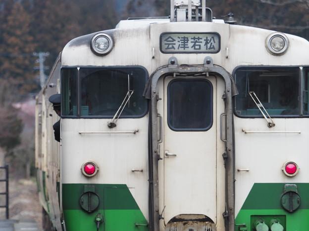 キハ40 会津柳津駅