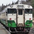 Photos: キハ40 会津柳津駅
