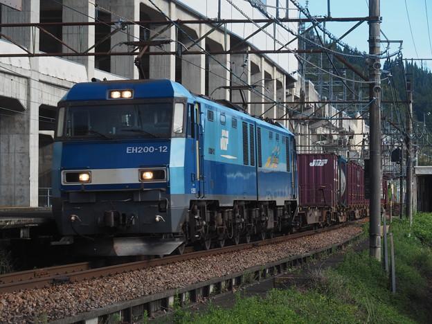 浦佐駅 貨物列車