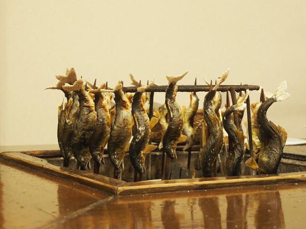 貝掛温泉 鮎の塩焼き