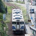 Photos: 五能線 千畳敷駅俯瞰