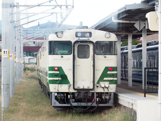 キハ40 男鹿駅