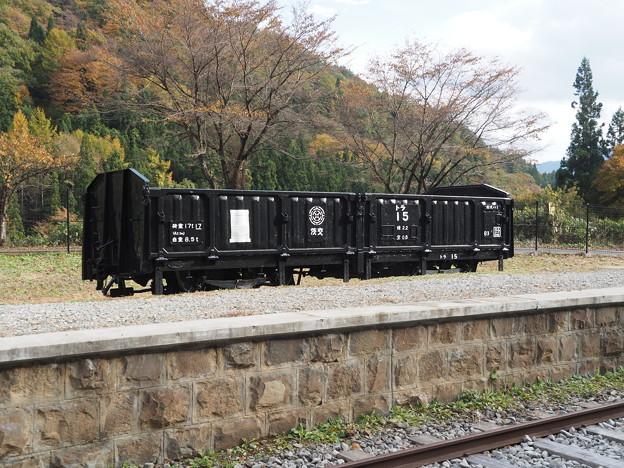 Photos: 国鉄吾妻線太子支線旧太子駅 トラ