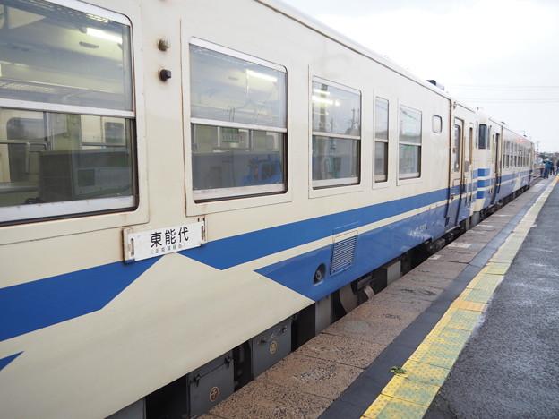 五能線 鰺ヶ沢駅キハ40