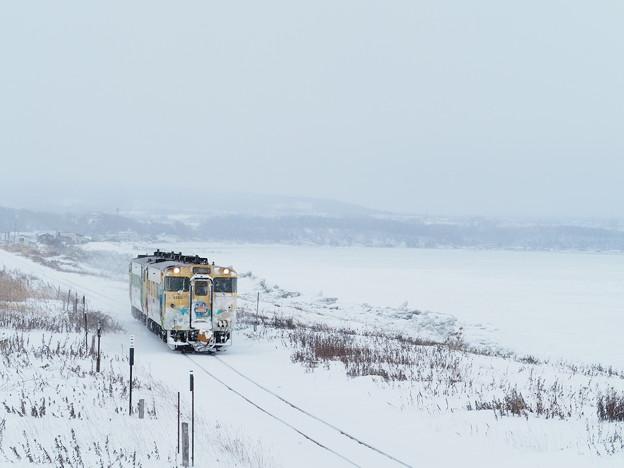 流氷物語号 北浜駅