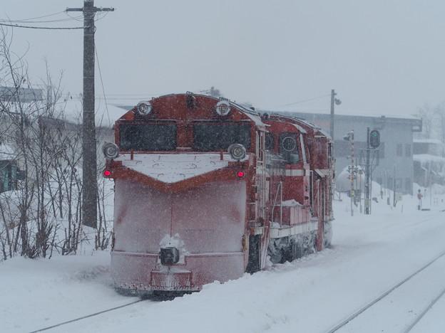 石北ラッセル 東旭川駅