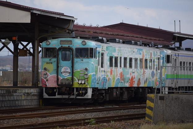 Photos: キハ40 1809「道南 海の恵み」18