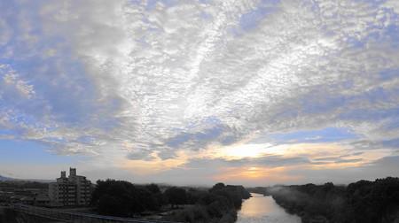 怒涛の朝雲