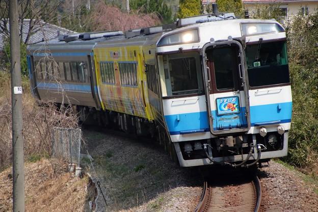 キハ185系うずしお+ゆうゆうアンパンマンカー