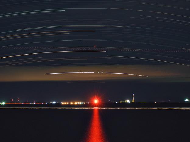 Photos: カノープスの光跡