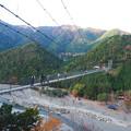 Photos: 谷瀬の吊り橋1