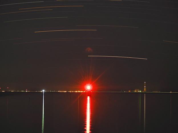 カノープスの光跡