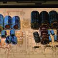 Photos: 接点洗浄と劣化部品の交換