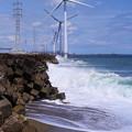 Photos: 風の力