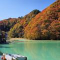 品木湖の秋1