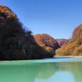 品木湖の秋2