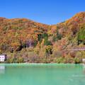 品木湖の秋3
