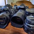 Photos: My Canon Lineup