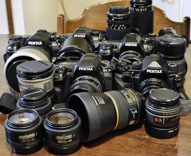 Photos: My Pentax Lineup
